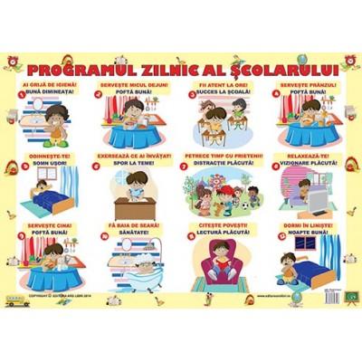 Programul zilnic al școlarului