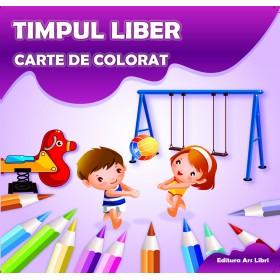 Carte de colorat - Timpul liber