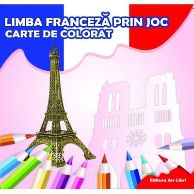 Carte de colorat - Limba franceză prin joc