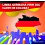 Carte de colorat - Limba germană prin joc
