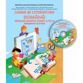 Manual - Limba și literatura română clasa a III-a, Semestrul al II-lea (conține CD cu manualul în format digital)
