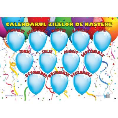 Calendarul Zilelor de Naștere