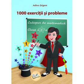 1000 exerciții și probleme, Clasa a II-a - Culegere de matematică 2018