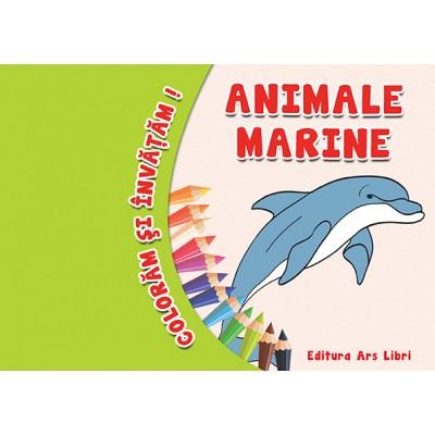 Colorăm şi învăţăm - Animale marine