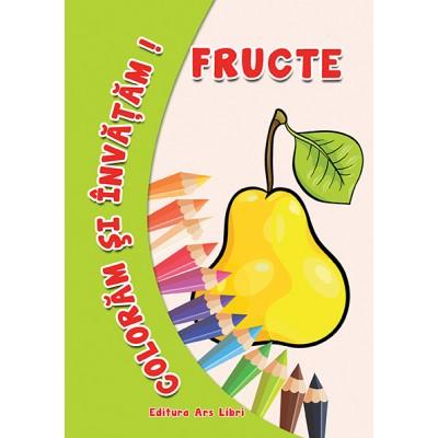 Colorăm şi învăţăm - Fructe