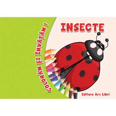 Colorăm şi învăţăm - Insecte