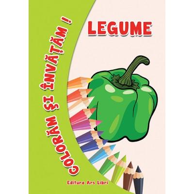 Colorăm şi învăţăm - Legume